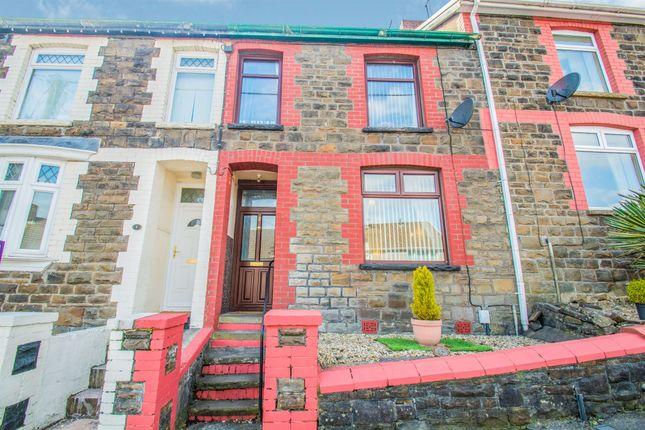 Thumbnail Terraced house for sale in Gellideg Road, Maesycoed, Pontypridd