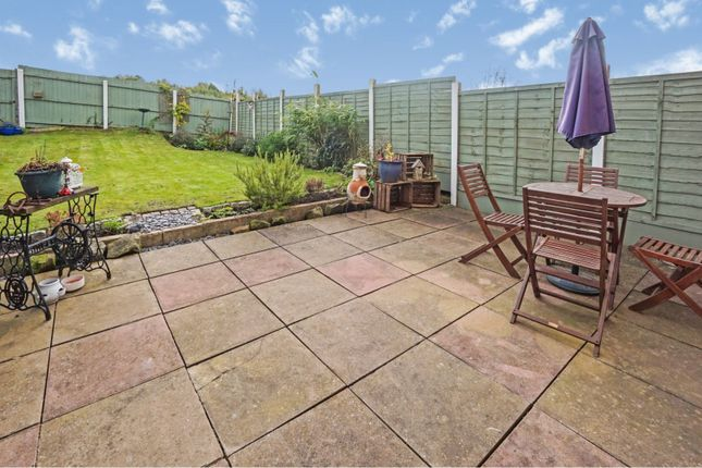 Rear Garden of Balmoral View, Milking Bank, Dudley DY1