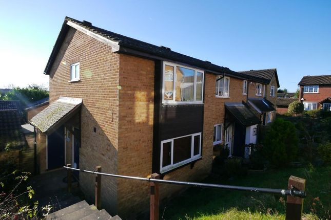 Thumbnail End terrace house for sale in Ladywood Road, Hertford