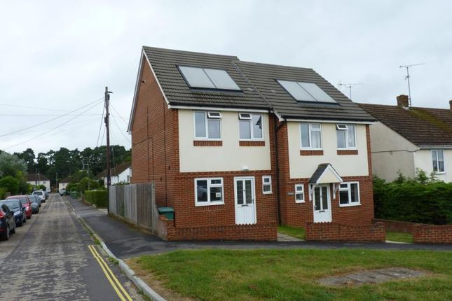 Thumbnail Semi-detached house to rent in Chalet Hill, Bordon