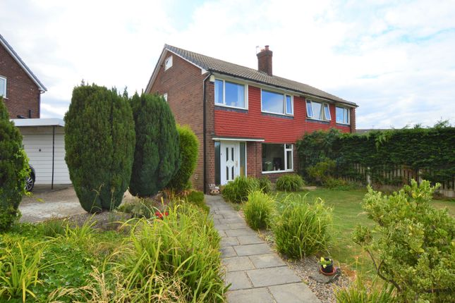Thumbnail Semi-detached house to rent in Grange Avenue, Garforth, Leeds