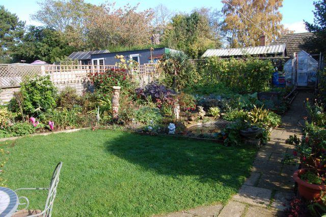 Rear Garden of Lime Avenue, Long Buckby, Northampton NN6