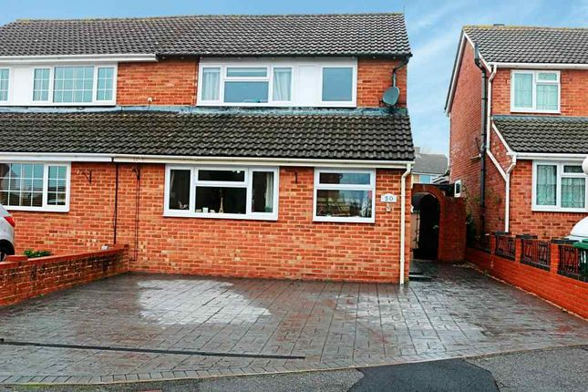 Thumbnail Semi-detached house to rent in Baird Avenue, Basingstoke