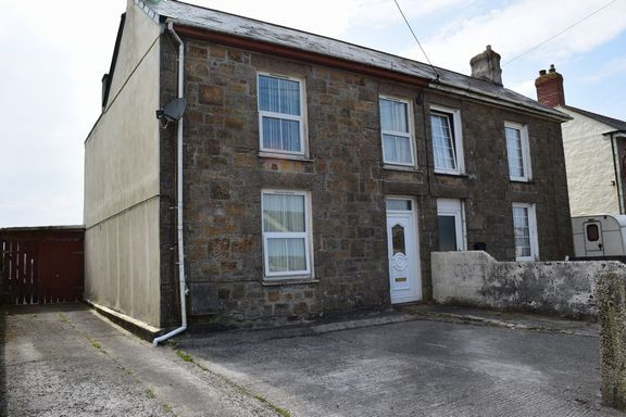 Thumbnail Semi-detached house for sale in Newton Road, Troon, Camborne