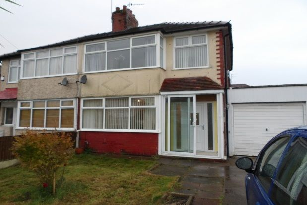 Thumbnail Property to rent in Cleveleys Road, Great Sankey, Warrington
