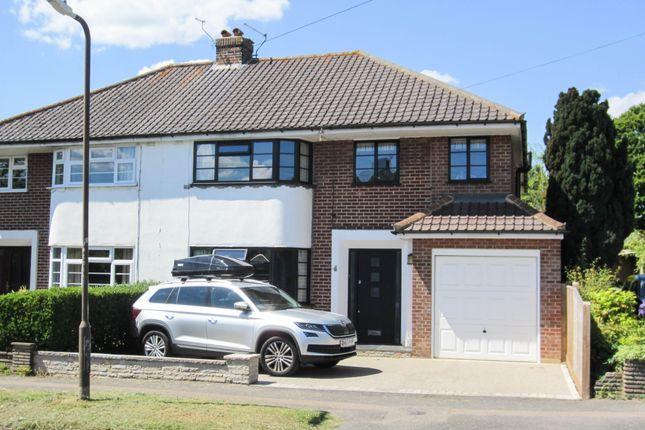 Thumbnail Semi-detached house to rent in Hilden Avenue, Tonbridge