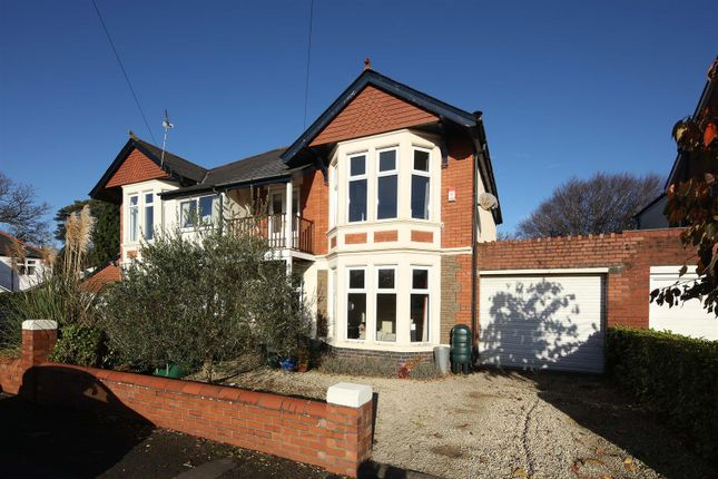 4 bed semi-detached house for sale in Highfield Road, Heath, Cardiff