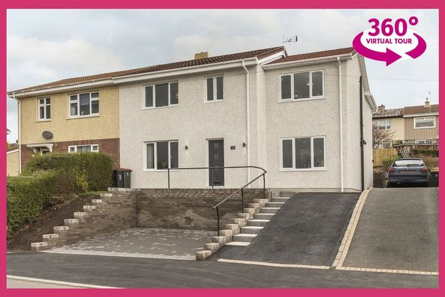 Thumbnail Semi-detached house for sale in Greenfield Road, Newport, View 360 Tour At, Ref#00006513