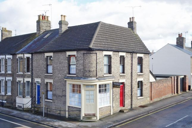Thumbnail End terrace house for sale in Albert Street, Bury St. Edmunds