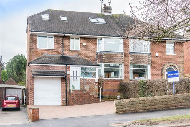 Thumbnail Semi-detached house for sale in Hallam Grange Crescent, Sheffield