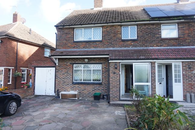 Thumbnail Semi-detached house to rent in Crowhurst Way, Orpington
