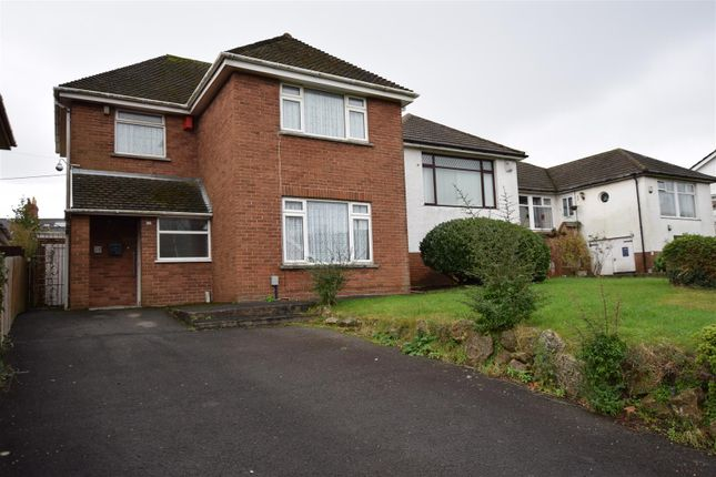 Thumbnail Detached house for sale in Robins Lane, Barry