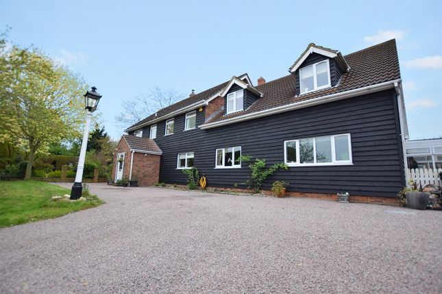 Thumbnail Detached house for sale in Rectory Road, Middleton, Sudbury