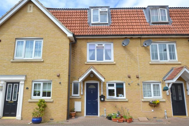 Thumbnail Terraced house for sale in Parker Close, Eynesbury Manor, St Neots, Cambridgeshire