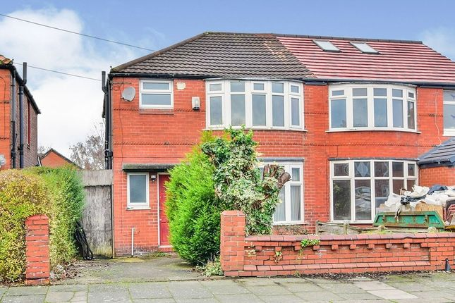 4 bed semi-detached house to rent in Hatherley Road, Withington, Manchester M20