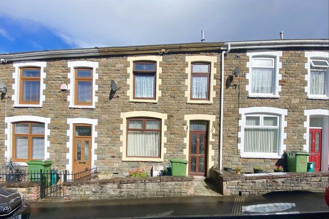 Thumbnail Terraced house for sale in Trevor Street, Aberdare, Mid Glamorgan