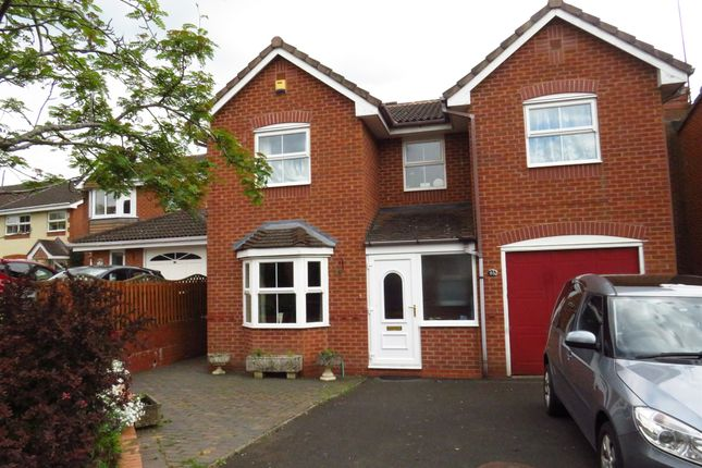 Thumbnail Detached house for sale in Moorcroft Gardens, Walkwood, Redditch