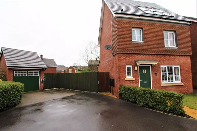 Thumbnail Detached house for sale in Shuttle Drive, Heywood