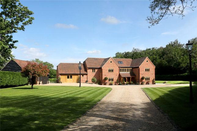 Thumbnail Detached house for sale in Wooburn Common Road, Wooburn Common, Buckinghamshire