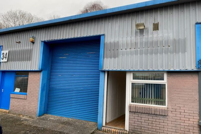 Thumbnail Industrial to let in Unit 33 Albion Industrial Estate, Pontypridd