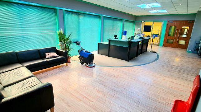 Waiting Area & Reception