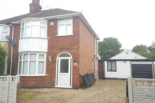 Thumbnail Semi-detached house to rent in Walcote Road, Rushey Mead, Leicester