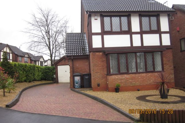 Thumbnail 3 bed detached house to rent in Thornham Close, Newcastle Under Lyme