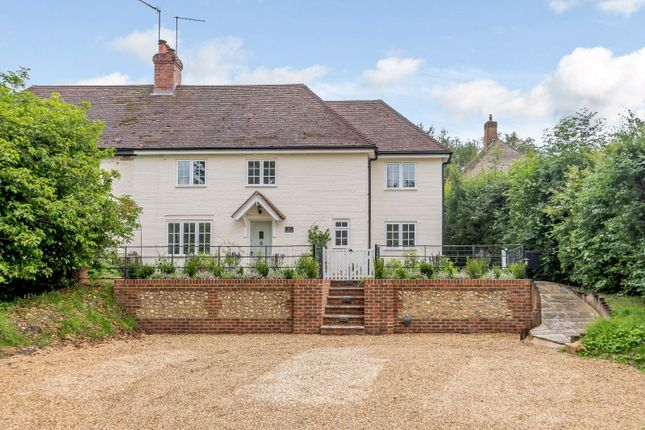 Thumbnail Semi-detached house for sale in Whitegates, Preston Candover, Basingstoke, Hampshire