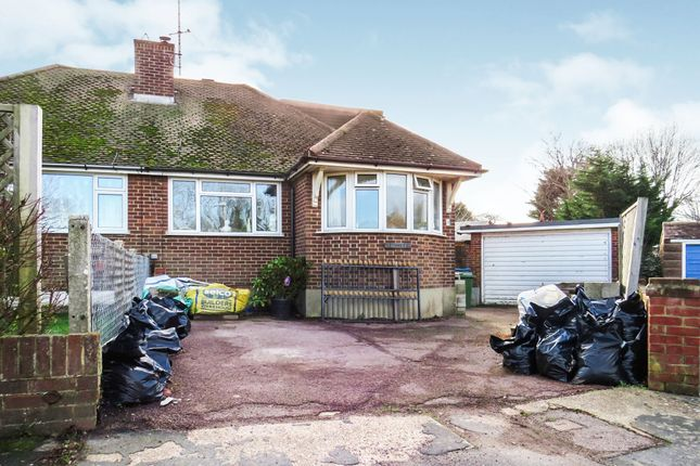 Thumbnail Semi-detached bungalow for sale in Dymchurch Close, Seaford