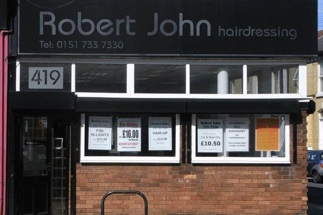 Thumbnail Retail premises for sale in Smithdown Road, Liverpool, Hairdressers