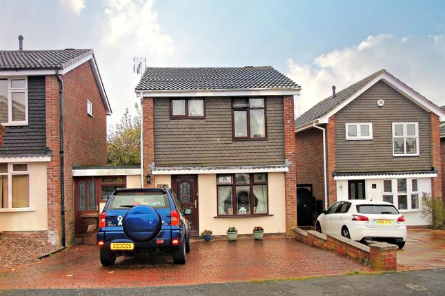 Thumbnail Link-detached house for sale in Fairfield Close, Heath Hayes, Cannock