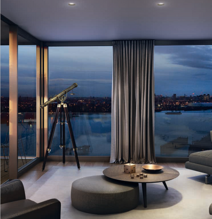 Thumbnail Flat for sale in Royal Wharf, North Woolwich Road, London