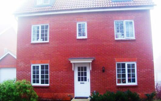 Thumbnail Town house to rent in Benet Close, Thetford