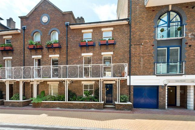 Thumbnail Mews house for sale in Plantation Wharf, York Road, Wandsworth, London