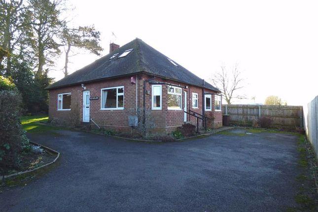 Thumbnail Detached bungalow for sale in Quinton Lane, Woodford Halse, Northamptonshire