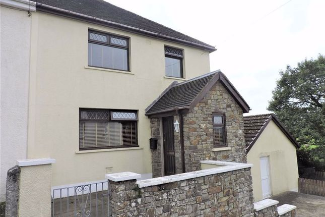 Thumbnail Semi-detached house for sale in Halkon Crescent, Narberth, Pembrokeshire