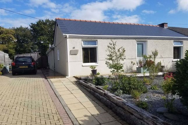 Thumbnail Semi-detached bungalow for sale in Heol Y Meinciau, Pontyates, Llanelli