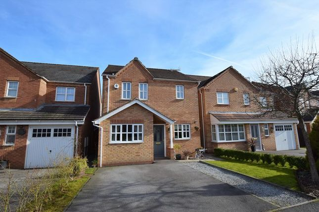 Thumbnail Detached house for sale in Bloomery Way, Clay Cross, Chesterfield