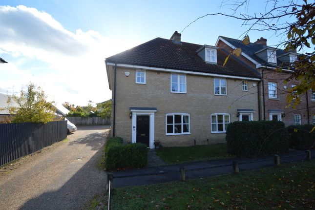 Thumbnail Semi-detached house for sale in Lord Nelson Drive, New Costessey, Norwich