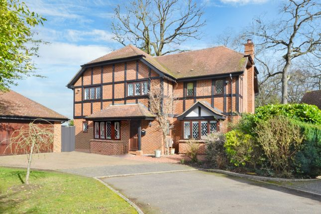 Thumbnail Detached house for sale in Dartnell Court, West Byfleet