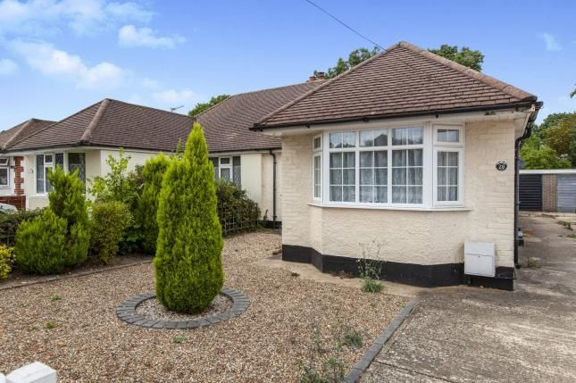Thumbnail Bungalow for sale in Row Town, Addlestone, Surrey