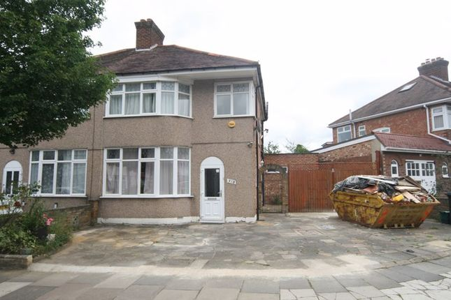 Thumbnail Semi-detached house to rent in Carr Road, Northolt