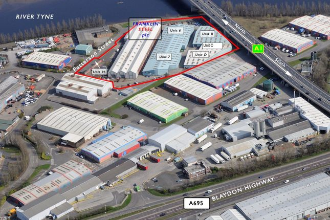 Thumbnail Industrial to let in Unit C Franklin Industrial Estate, Blaydon