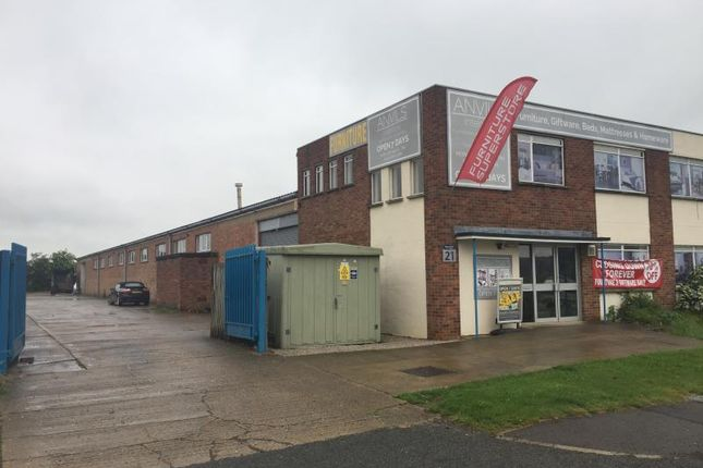 Thumbnail Industrial to let in Unit 21, Gwash Way, Ryhall Road Industrial Estate, Stamford