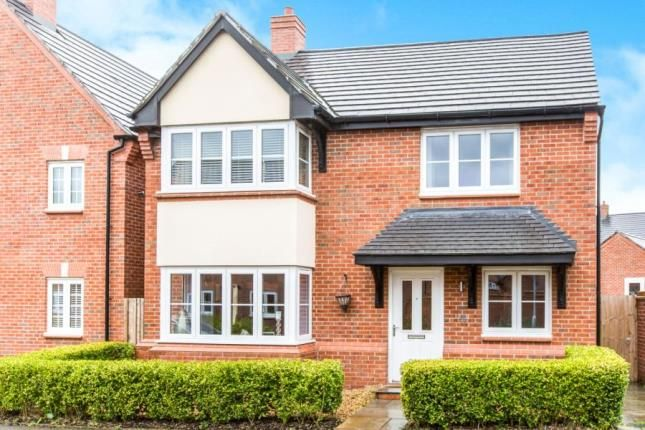 Thumbnail Detached house for sale in Mallard Avenue, Edleston, Nantwich, Cheshire