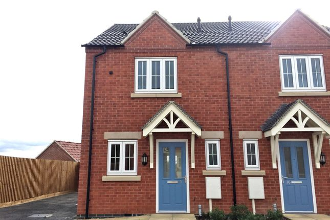 Thumbnail Semi-detached house for sale in Jacobite Close, Smalley, Ilkeston