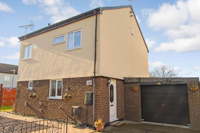 Thumbnail Detached house for sale in Brecon Close, Peterlee