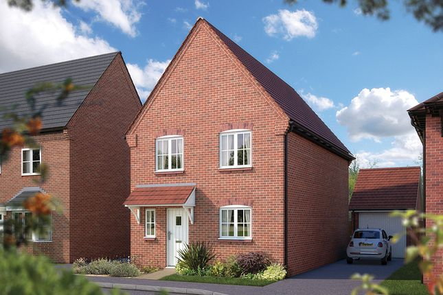 "Thumbnail Semi-detached house for sale in ""The Clarendon"" at Golden Nook Road, Cuddington, Northwich"