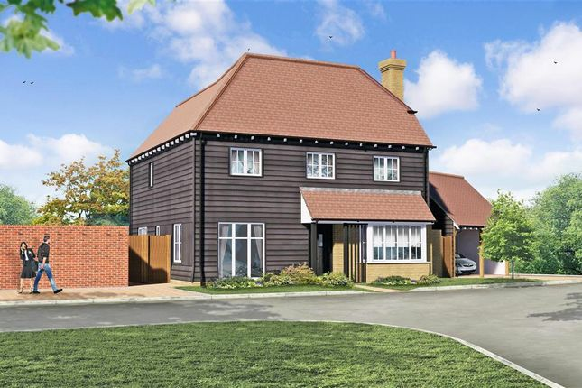 Thumbnail Detached house for sale in Evabourne, Peters Village, Wouldham, Rochester, Kent