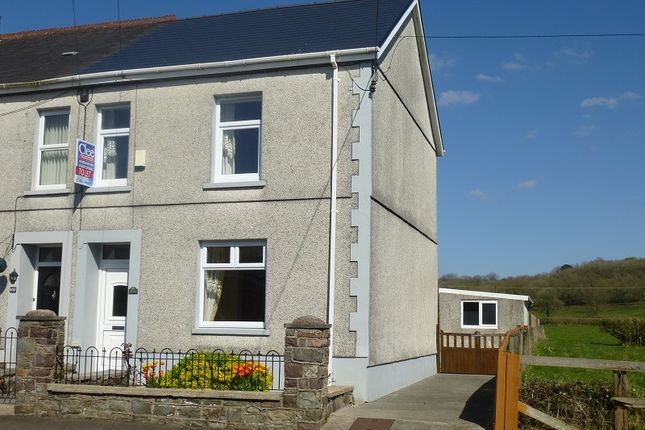 Thumbnail Semi-detached house to rent in Ammanford Road, Llandybie, Ammanford, Carmarthenshire.